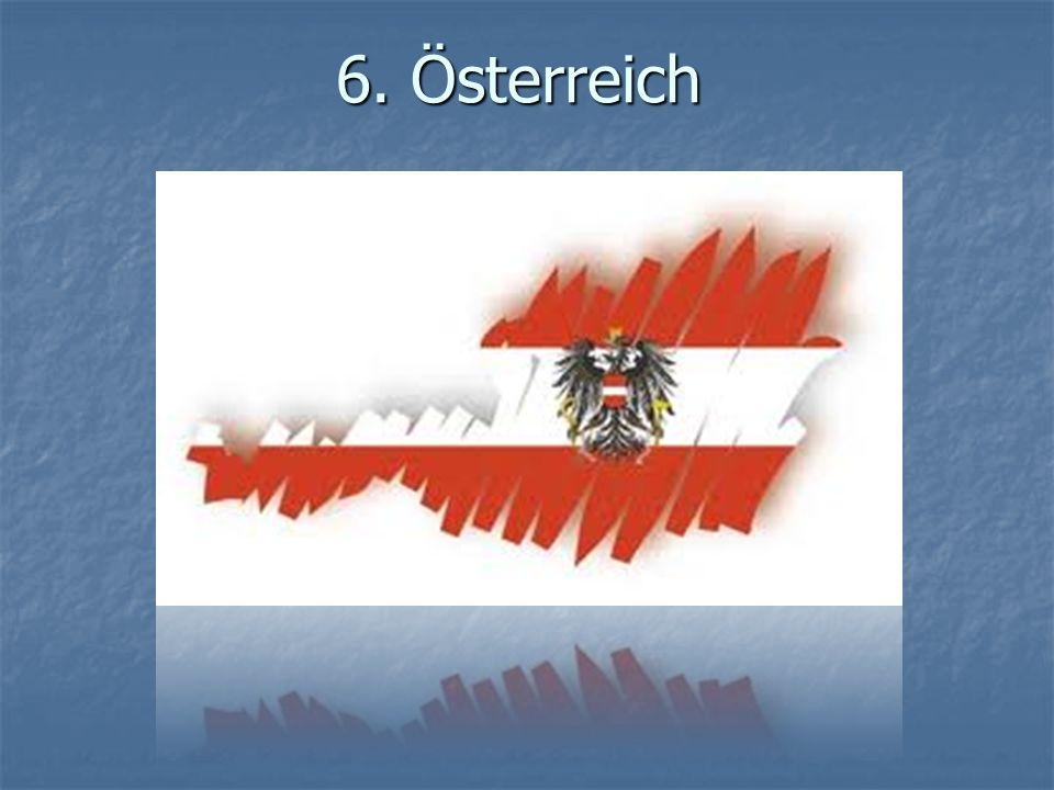 6.Österreich - Lage - Wo liegt Österreich. Österreich liegt in Mitteleuropa.