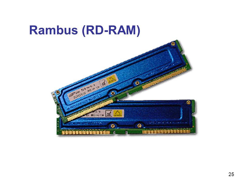 25 Rambus (RD-RAM)