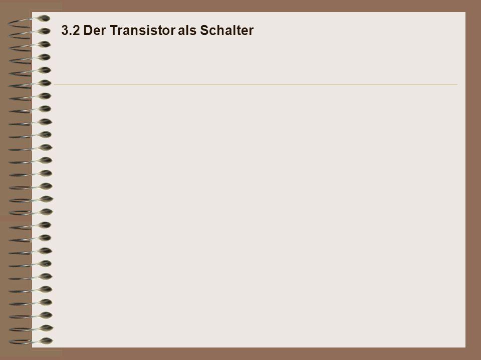 Erklärung: 3.2.5 Feuchtigkeitsmelder mit Transistor