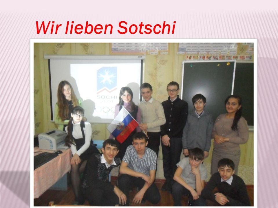 Wir lieben Sotschi
