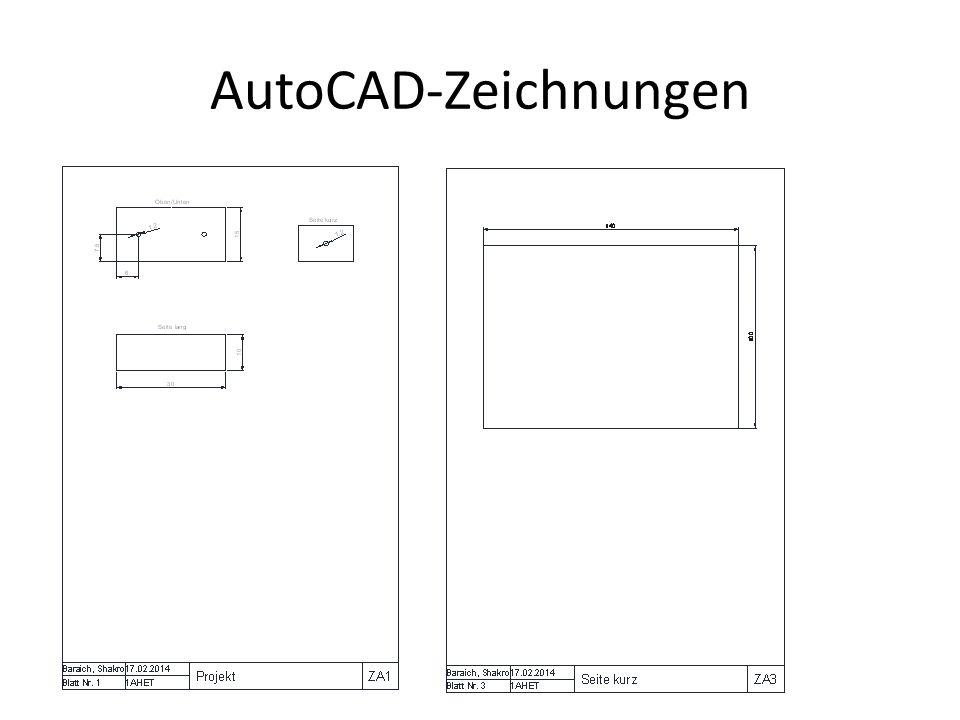 AutoCAD-Zeichnungen