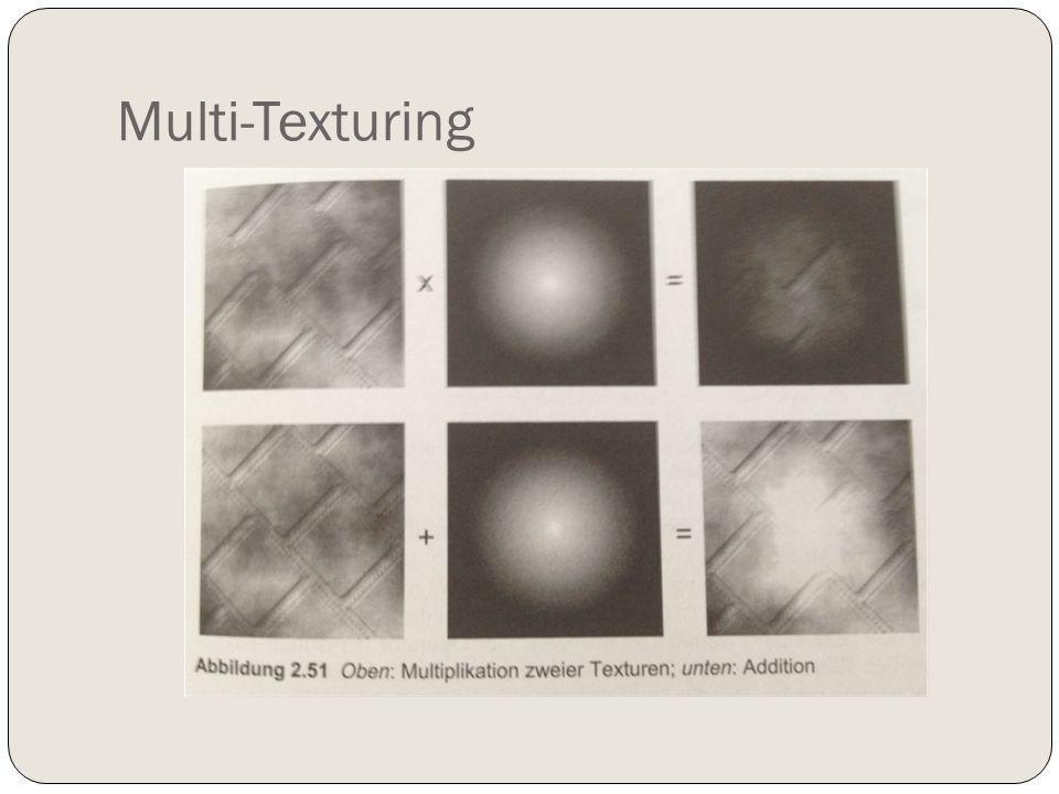Multi-Texturing