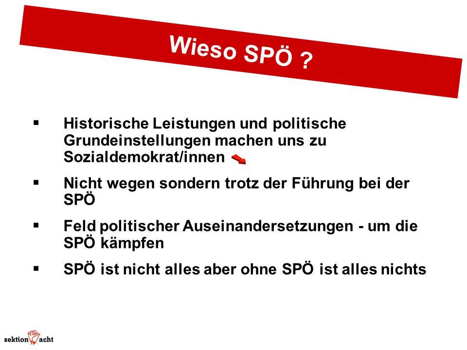Wieso SPÖ .