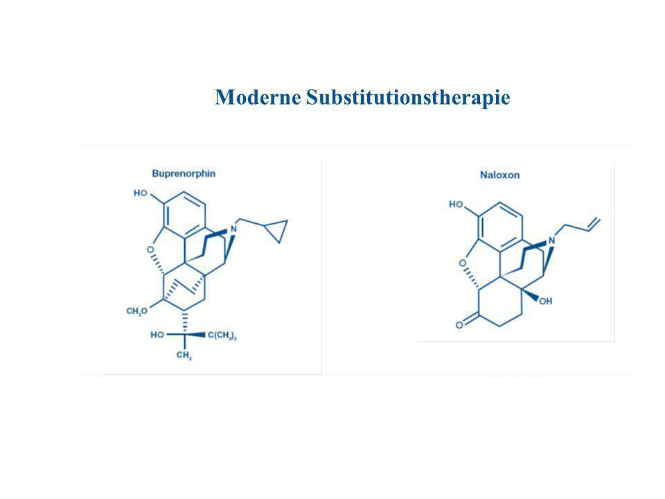 Buprenorphin Analgesie TEMGESIC Ampullen mit 0,3 mg Buprenorphin in 1 ml TEMGESIC sublingual mit 0,2 mg Buprenorphin TEMGESIC forte sublingual mit 0,4 mg Buprenorphin SUBUTEX Sublingualtabletten (0,4 mg, 2 mg, 8 mg Buprenorphin) SUBOXONE Sublingualtabletten (2 mg Buprenorphin + 0,5 mg Naloxon und 8 mg Buprenorphin + 2 mg Naloxon) Substitution