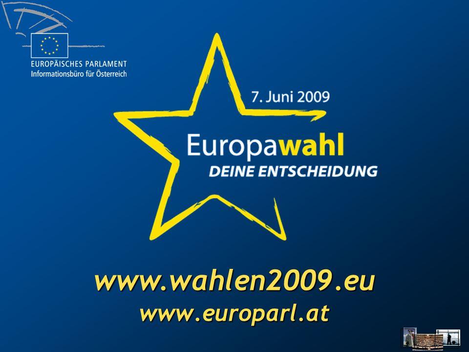 www.europarl.at www.wahlen2009.eu