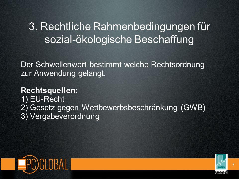 18 5.Weitere Infos www.pcglobal.org: Arbeitsrechte und Umweltgerechtigkeit, sozial-ökol.