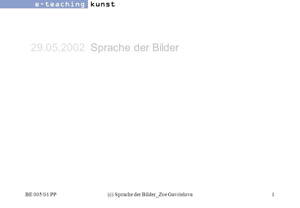 BE 005/01 PP(c) Sprache der Bilder_Zoe Gavrielova62 Werbung- Grafikdesign- Kunst oben -unten