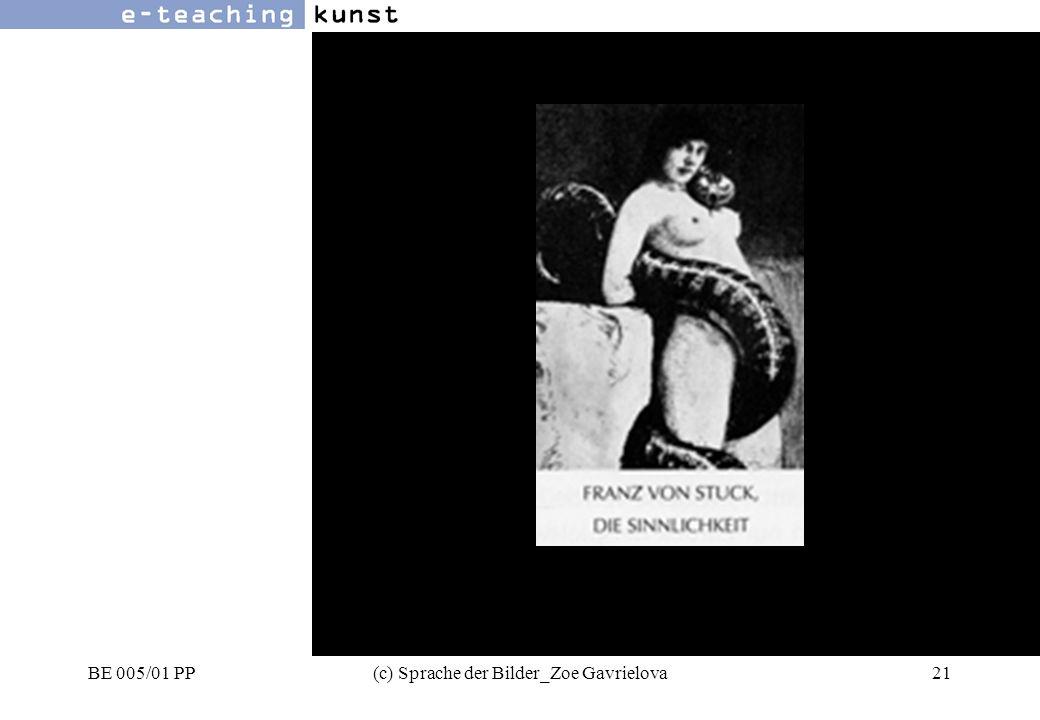 BE 005/01 PP(c) Sprache der Bilder_Zoe Gavrielova21 Werbung- Grafikdesign- Kunst