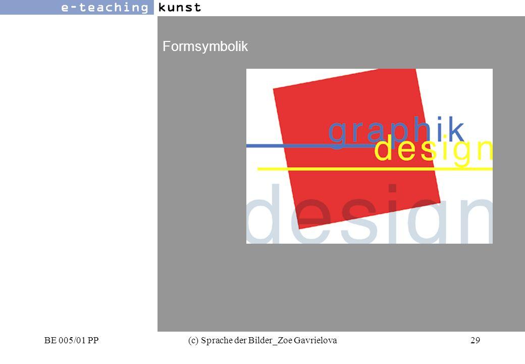 BE 005/01 PP(c) Sprache der Bilder_Zoe Gavrielova29 Werbung- Grafikdesign- Kunst Formsymbolik