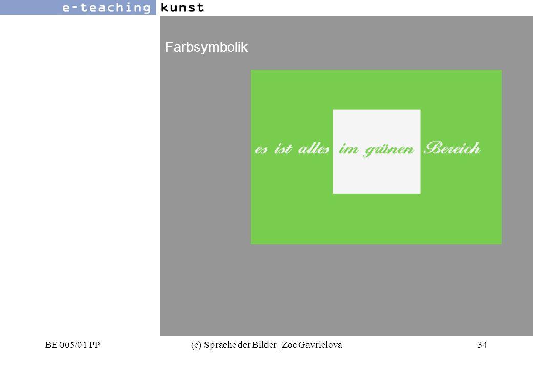 BE 005/01 PP(c) Sprache der Bilder_Zoe Gavrielova34 Werbung- Grafikdesign- Kunst Farbsymbolik
