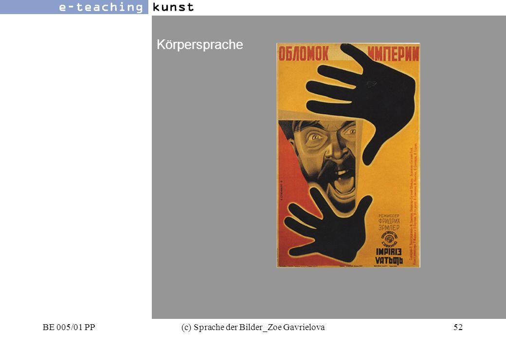 BE 005/01 PP(c) Sprache der Bilder_Zoe Gavrielova52 Werbung- Grafikdesign- Kunst Körpersprache