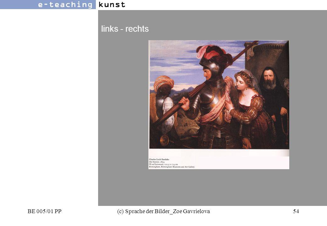 BE 005/01 PP(c) Sprache der Bilder_Zoe Gavrielova54 Werbung- Grafikdesign- Kunst links - rechts