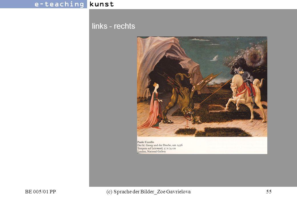 BE 005/01 PP(c) Sprache der Bilder_Zoe Gavrielova55 Werbung- Grafikdesign- Kunst links - rechts