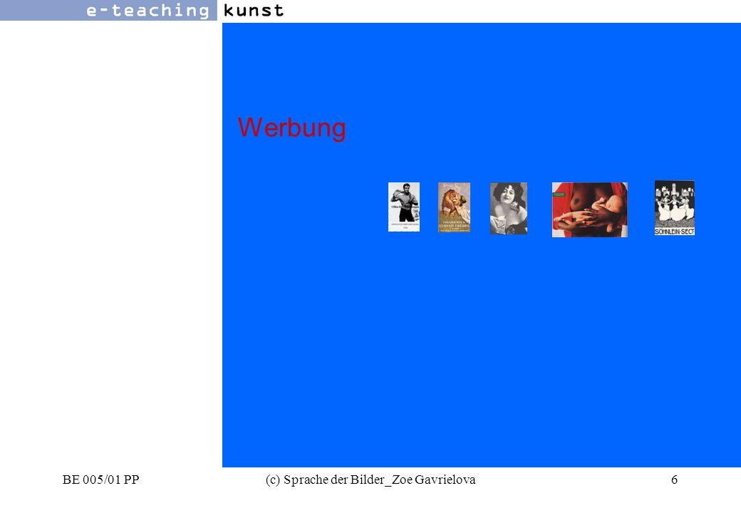 BE 005/01 PP(c) Sprache der Bilder_Zoe Gavrielova67 Werbung- Grafikdesign- Kunst