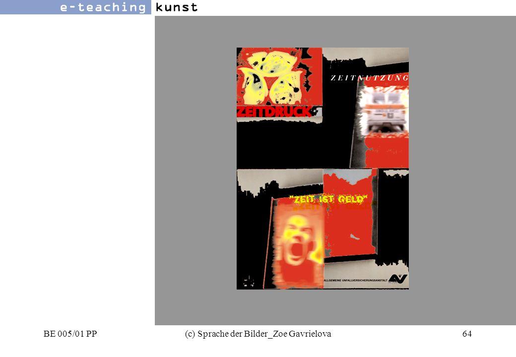 BE 005/01 PP(c) Sprache der Bilder_Zoe Gavrielova64 Werbung- Grafikdesign- Kunst