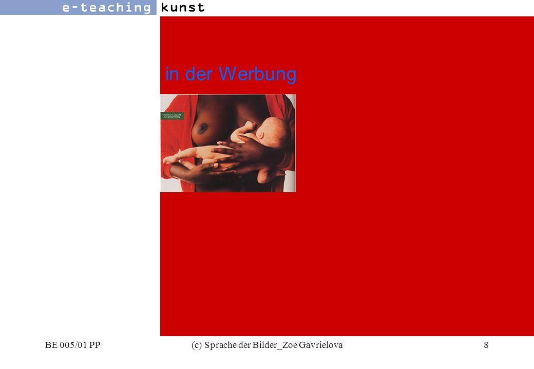 BE 005/01 PP(c) Sprache der Bilder_Zoe Gavrielova39 Werbung- Grafikdesign- Kunst Farbsymbolik rot - blau