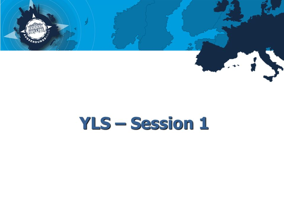 YLS – Session 1