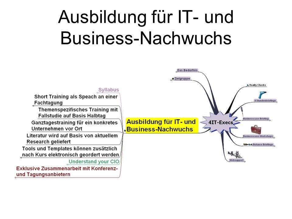 Ausbildung für IT- und Business-Nachwuchs