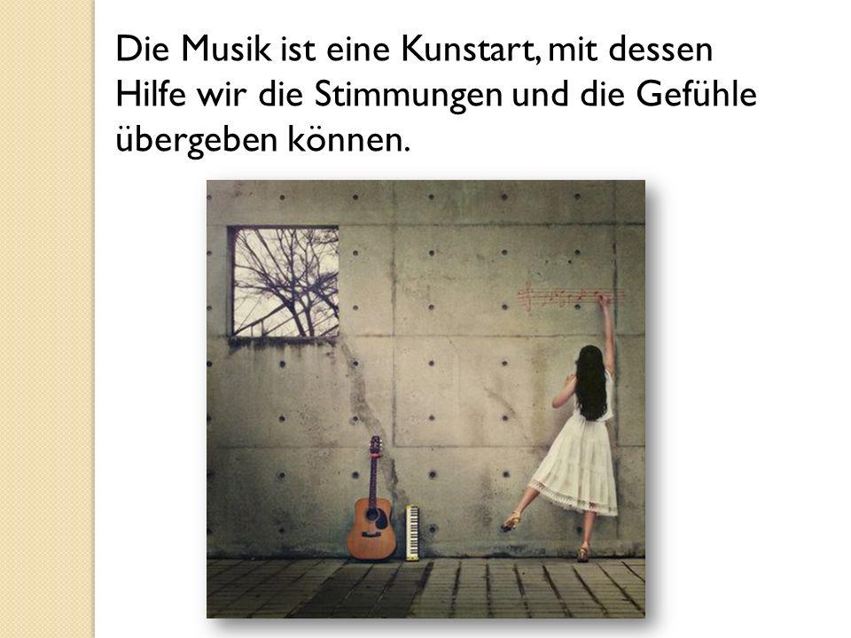 Die musikalischen Werke kann man nach den Genres, den Richtungen und den Stilen bedingt teilen.