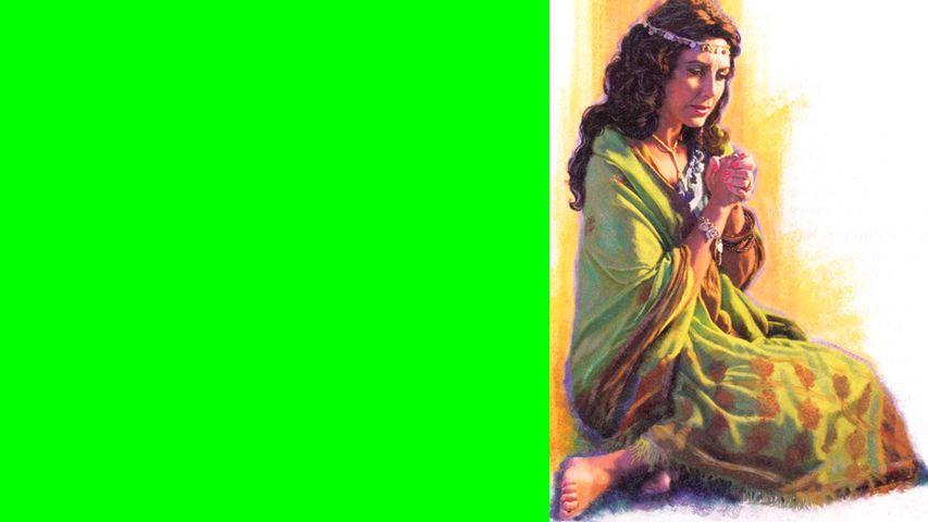 Deine Vergangenheit bestimmt nicht deine Zukunft.Salmon zeugte Boas; die Mutter war Rahab.