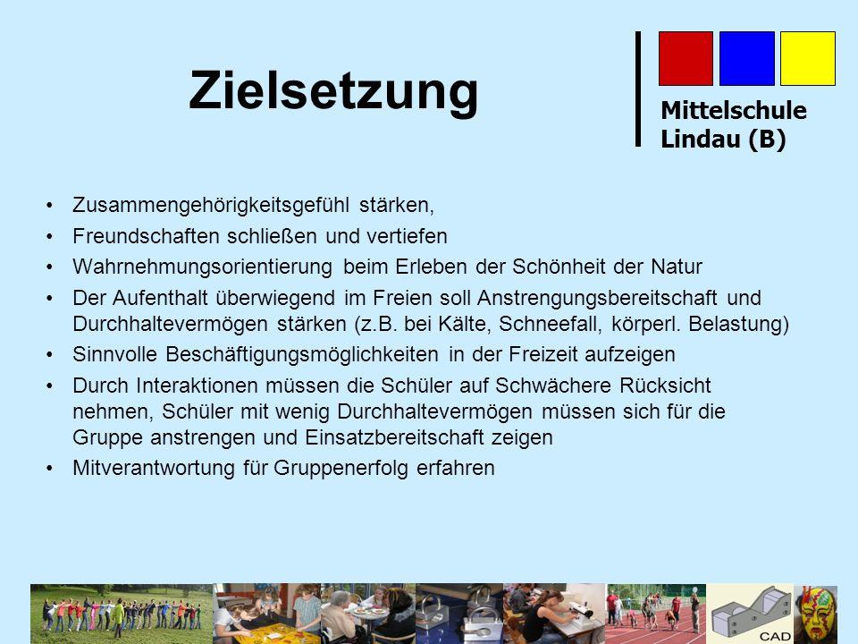 Mittelschule Lindau (B) Wo stehen wir heute.