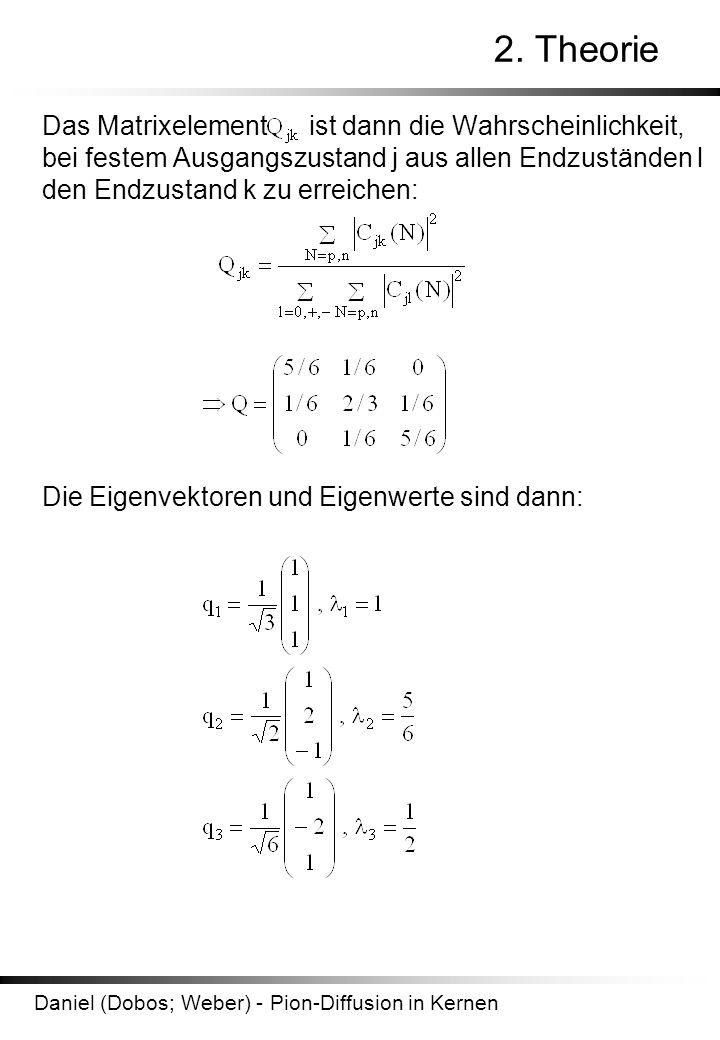 Daniel (Dobos; Weber) - Pion-Diffusion in Kernen 2.