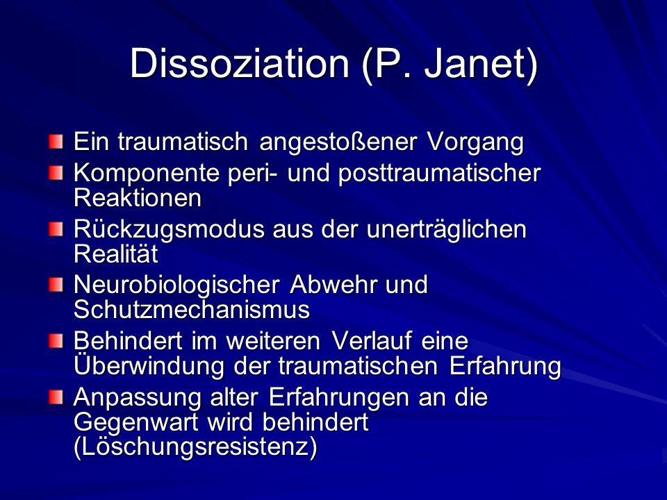 Dissoziation (P.