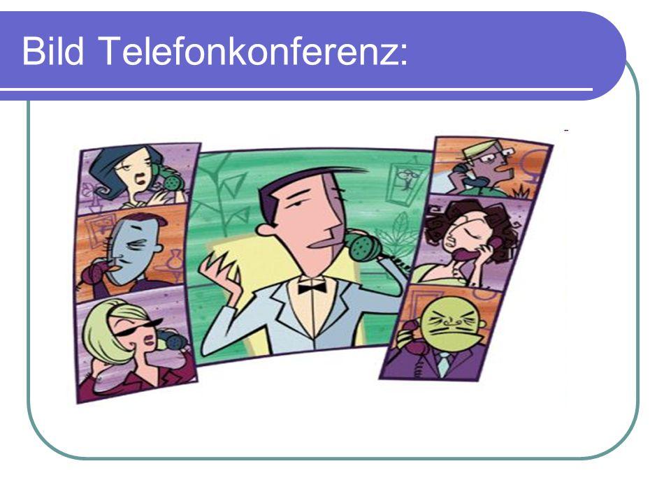 Bild Telefonkonferenz: