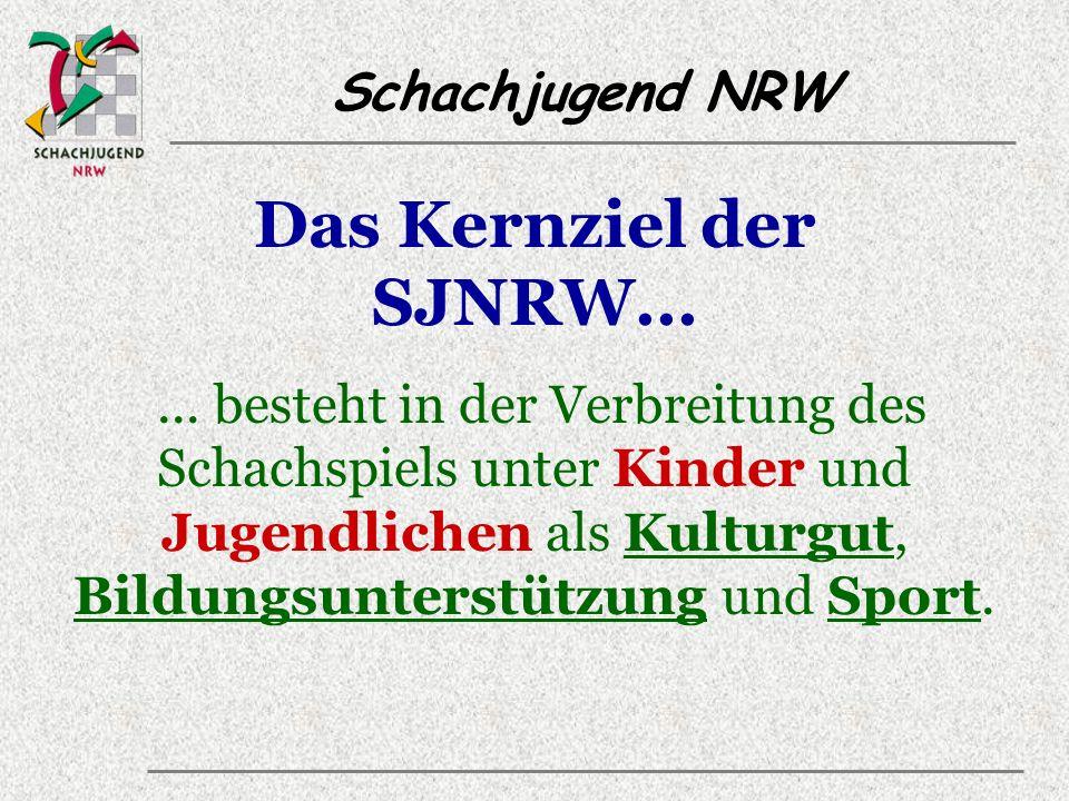 Schachjugend NRW Arbeitsbereiche