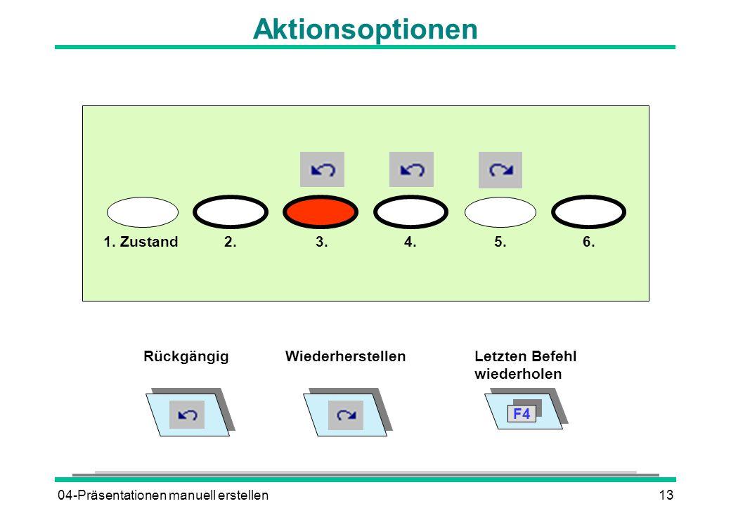 04-Präsentationen manuell erstellen13 Aktionsoptionen 1.