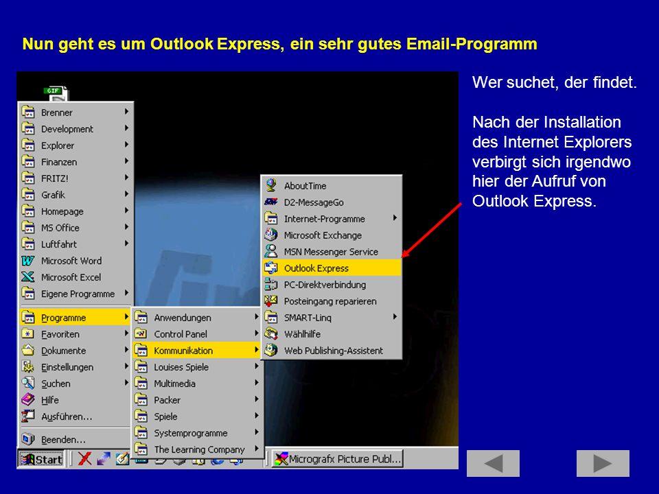 Ein weiterer Vorteil des Internet Explorers, aber auch des Browsers Opera ist, daß man nach dem Schließen des Browsers gefragt wird, ob man denn nicht die DFÜ- Verbindung trennen möchte.