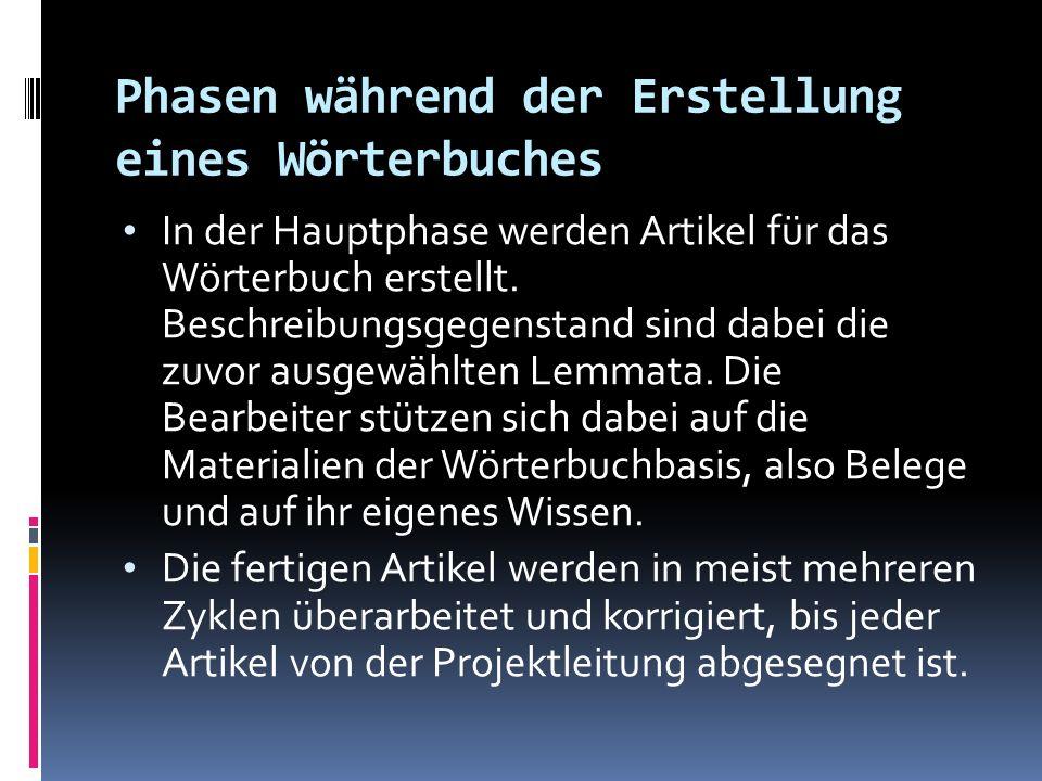 AUSWAHL EINES WÖRTERBUCHES 5.