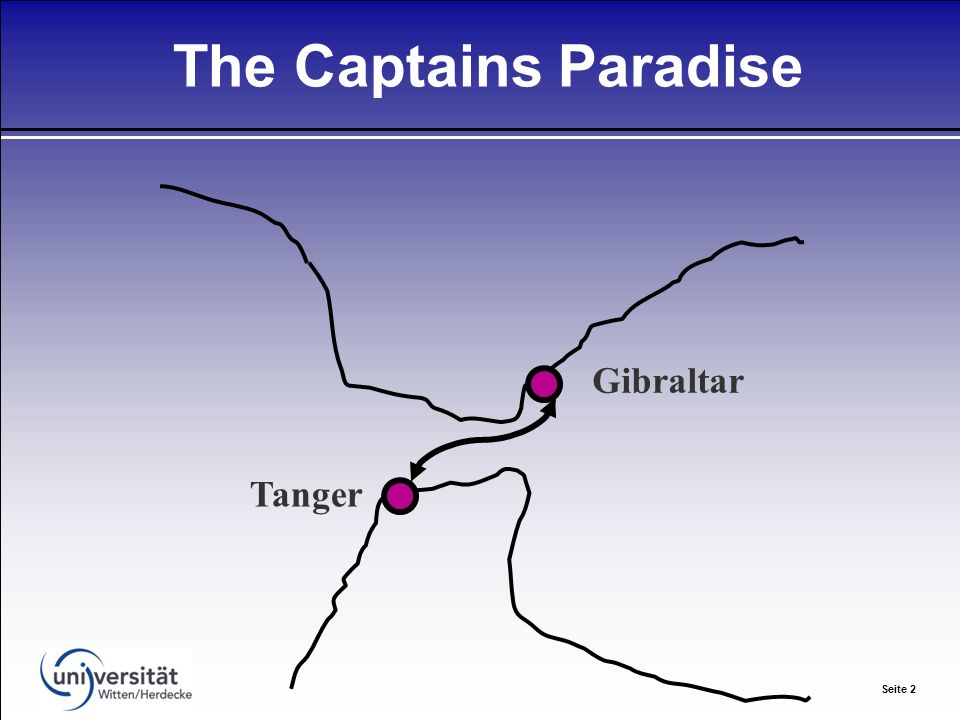 Seite 2 The Captains Paradise Gibraltar Tanger
