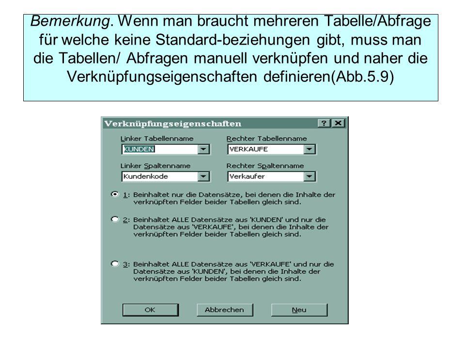 Problem: Man soll eine Abfrage für die Aktualisierung der Adresse eines bestimmten Kunden definieren