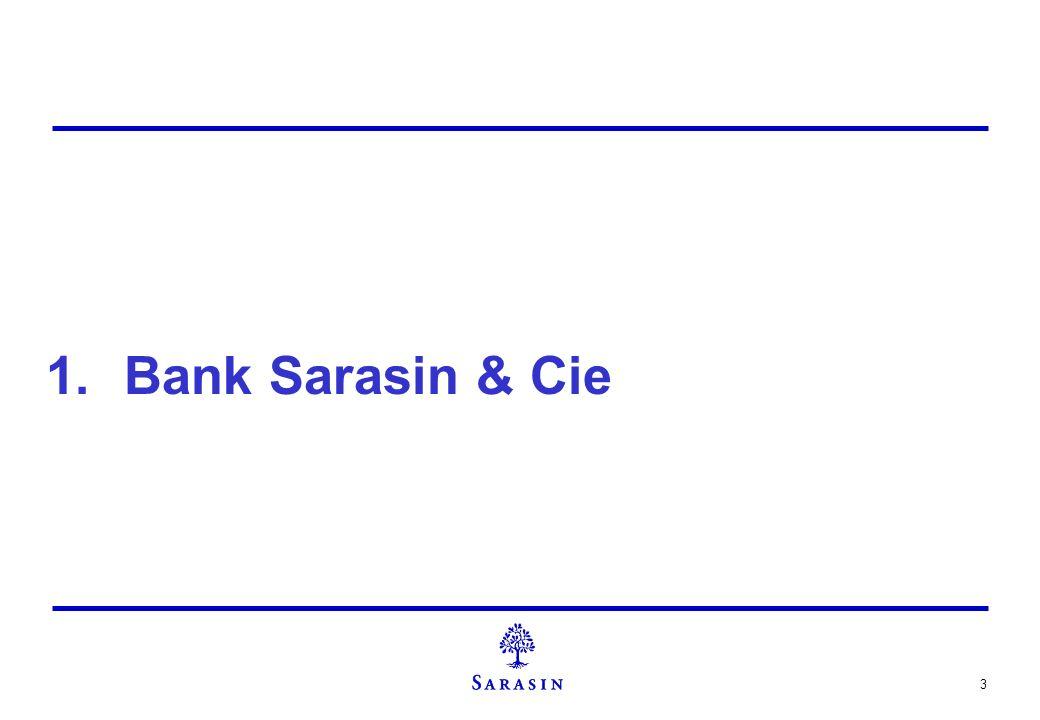 4 Bank Sarasin & Cie stellt sich vor 1841 gegründete, unabhängige Privatbank mit Hauptsitz in Basel und Geschäftssitzen in Zürich, Genf, Lugano und London Kommanditgesellschaft auf Aktien mit zehn vollhaftenden Teilhabern über 800 Mitarbeiter spezialisiert auf Vermögensverwaltung, Anlageberatung sowie Wertschriftenhandel themenorientierter Anlagestil als Spezialität über 2.6 Mrd.