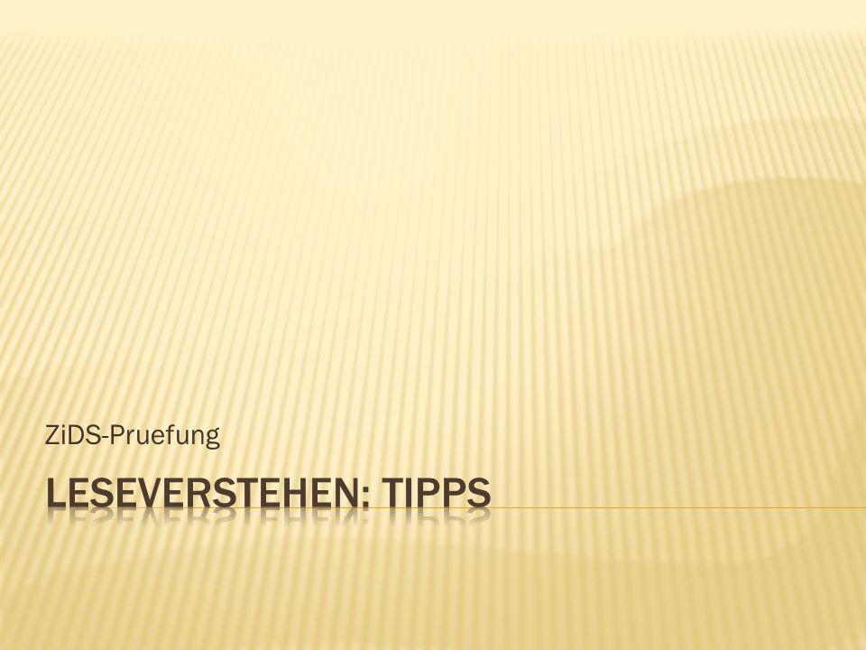 ZiDS-Pruefung