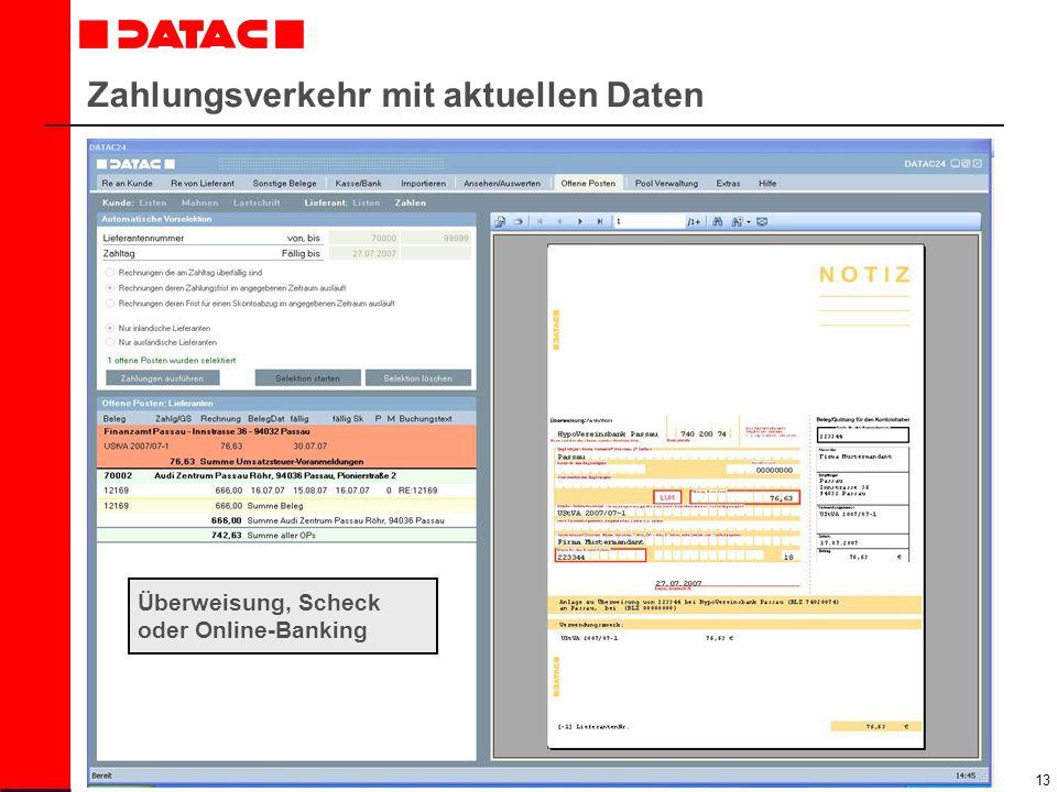 14 Digitales Kassebuch in DATAC24 führen