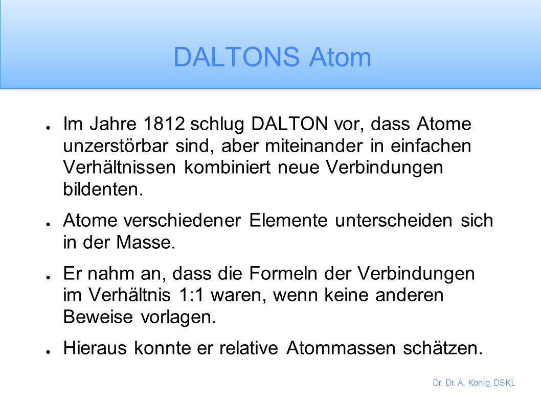 Dr. Dr. A. König, DSKL PLATO PLATO schlug vor, dass Atome aus vier Elementen aufgebaut waren, die sich in der Form unterscheiden. Feuer war ein Tetrae