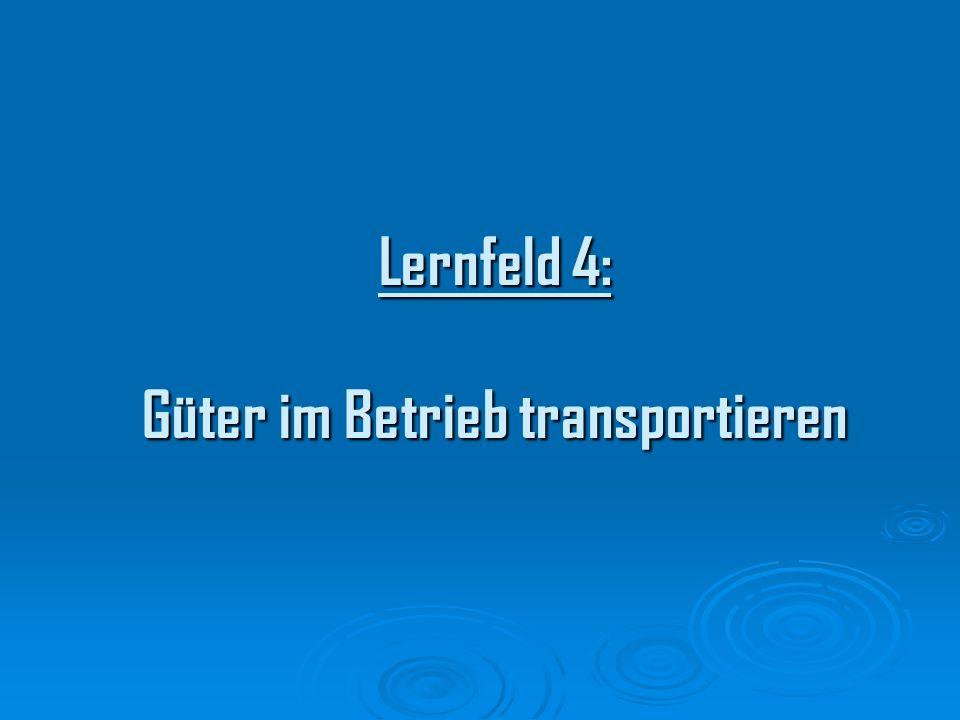 Aufnahme des IST Zustands d.h.: Erfassung des derzeitigen Materialflusses nach Beförderungsmengen und Beförderungshäufigkeit.
