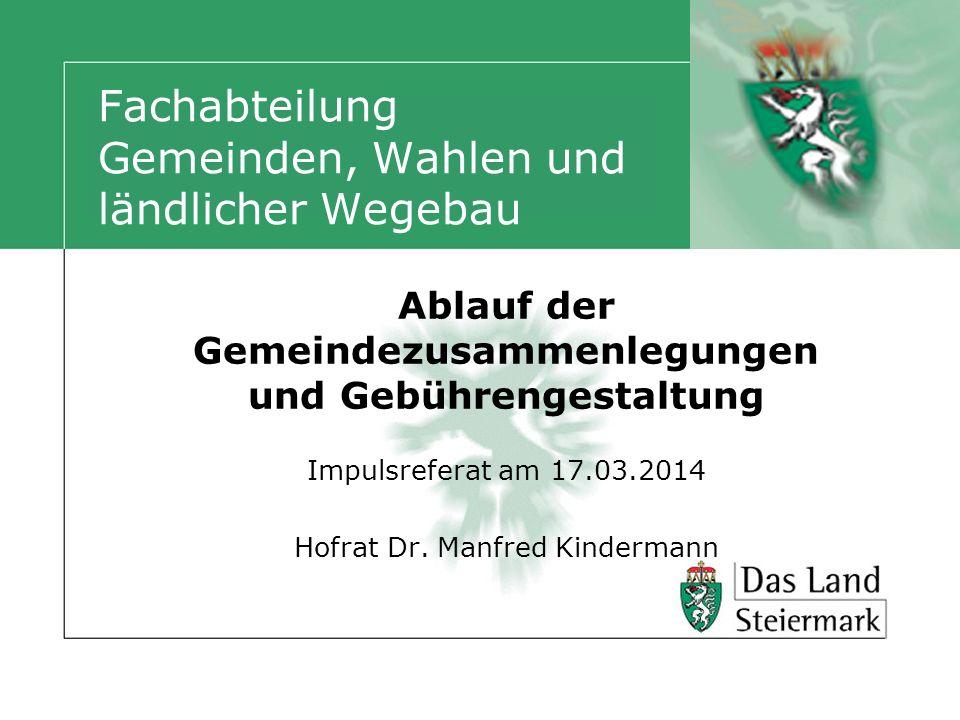 Vereinigung – rechtliche Rahmenbedingungen Stmk.Gemeindeordnung 1967 idgF § 8 Abs.