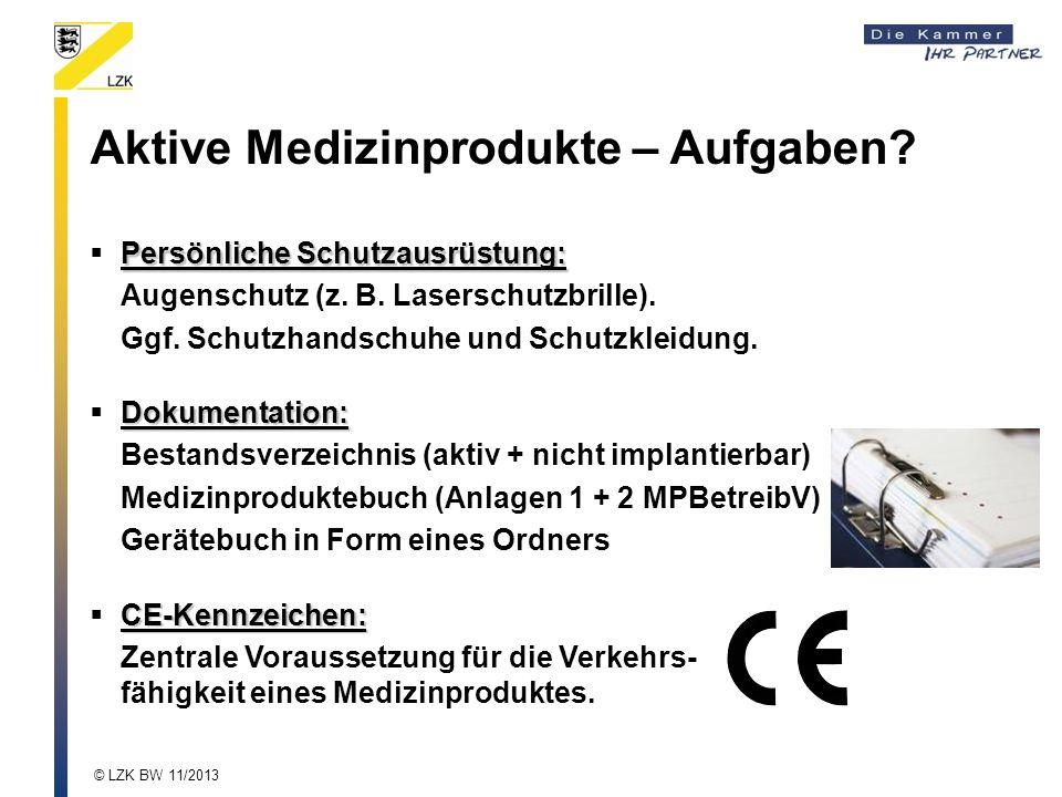 Persönliche Schutzausrüstung: Augenschutz (z.B. Laserschutzbrille).