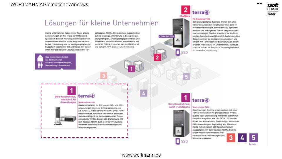 www.wortmann.de WORTMANN AG empfiehlt Windows.Aktuell NEU EOL Jan.Mär.Mai.Jun.