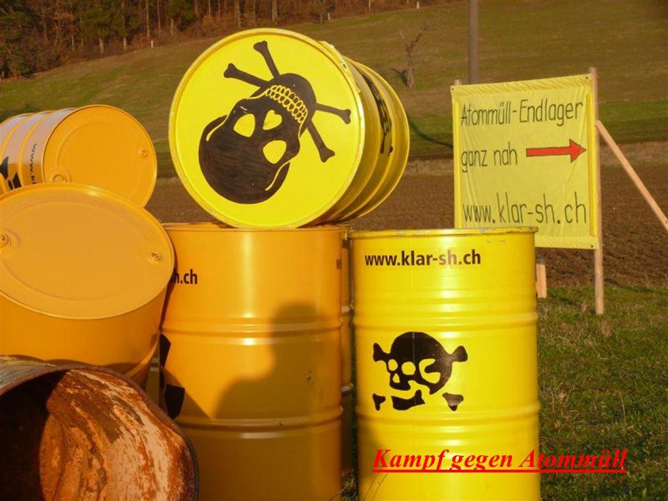Kampf gegen Atommüll