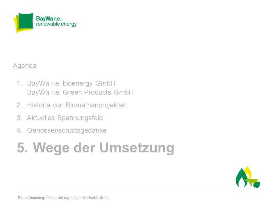 Seite 20 Energie-Gesellschaft 5% Energiegenossenschaft 20% BayWa r.e.