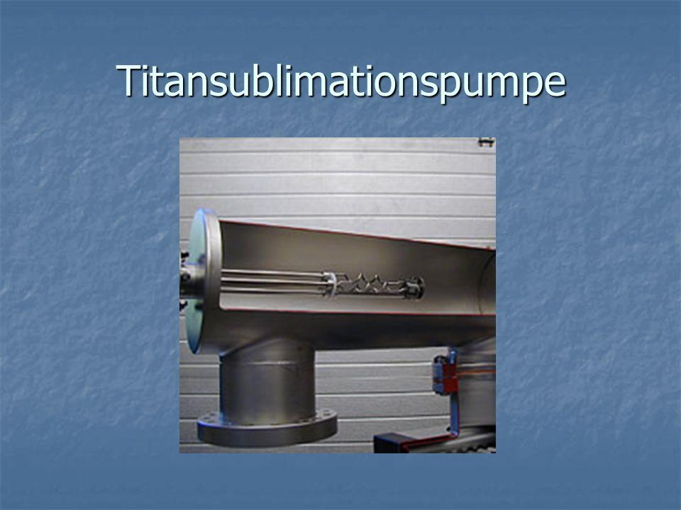 Titansublimationspumpe