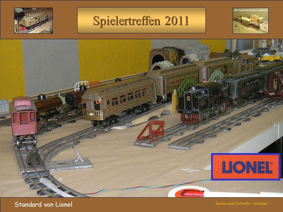 Spielertreffen 2011 Standard von Lionel Spuren und Maßstäbe – Stuttgart