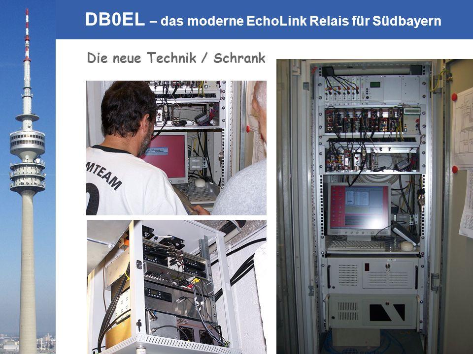 © Rainer Englert - DF2NU DB0EL – das moderne EchoLink Relais für Südbayern Die neue Technik / Schrank