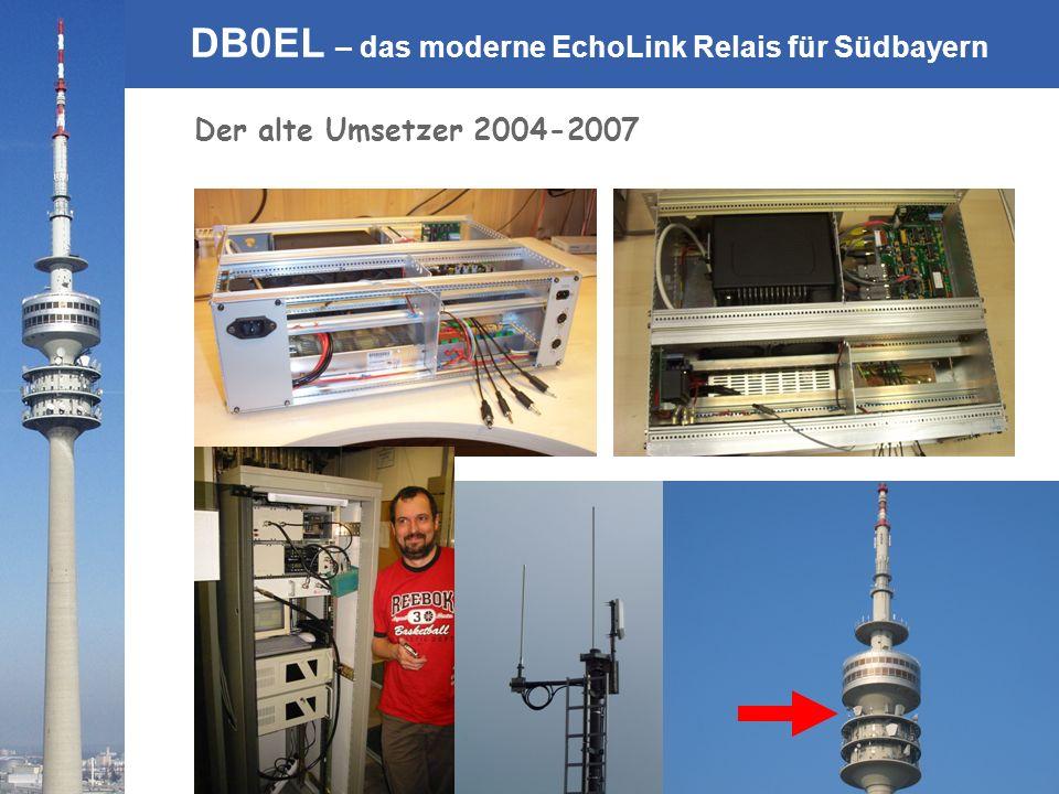 © Rainer Englert - DF2NU DB0EL – das moderne EchoLink Relais für Südbayern Der alte Umsetzer 2004-2007