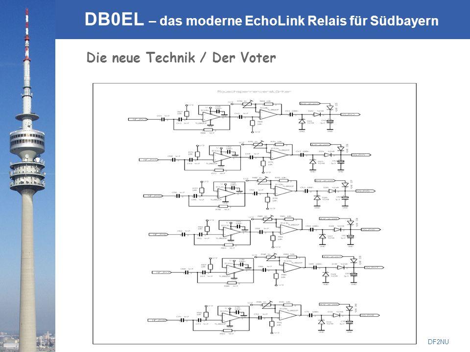 © Rainer Englert - DF2NU DB0EL – das moderne EchoLink Relais für Südbayern Die neue Technik / Der Voter