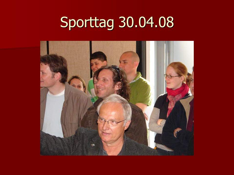 Sporttag 30.04.08